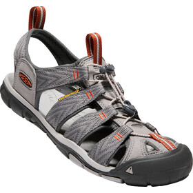 Keen Clearwater CNX Sandals Men Grey Flannel/Potters Clay